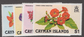 Cayman Islands Scott 478 - 481, MNH