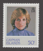 Cayman Islands Scott 489, MNH