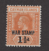 Cayman Islands Scott MR6, Hinged