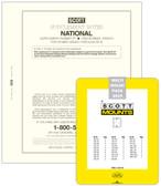 Scott National Album Supplement, 2020 #88 and 2020 Scott Mount Set - Pre-Order Now