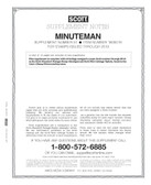 Scott Minuteman Album Supplement, 2020,  #52 - Pre-Order Now