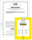 Scott Minuteman Album Supplement, 2020,  #52  and the 2020 Mount Set  - Pre-Order Now
