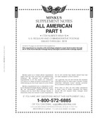 2020 Minkus All-American Supplement, Part 1:  Regular and Commemorative Issues - Pre-Order Now