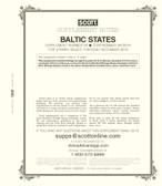 Scott Baltic States Stamp Album Supplement 2019, No. 28