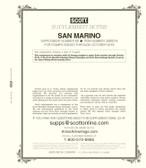 Scott San Marino Stamp Album Supplement, 2019 #70