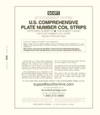 Scott PNC Coil Strips  Stamp Album Supplement, 2020 #32