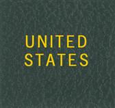 Scott United States Album Binder Label