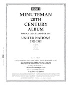 Scott United Nations Minuteman Album, Part 1 (1951 -  1999) - Pages Only