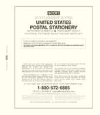 Scott U.S. Postal Stationery Album Supplement, 2020 #64