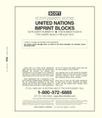 Scott United Nations Imprint Blocks Album Supplement, 2018 #67