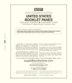 Scott US Booklet Panes Album Supplement, 2020 #82