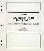 Scott US Postal Cards Blank Pages