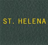 Scott St. Helena Specialty Binder Label