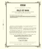 2020 Scott Isle of Man Album Supplement, No. 22