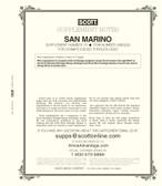 Scott San Marino Stamp Album Supplement, 2020 #70