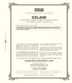 Scott Iceland Stamp Album Supplement, 2020 #25