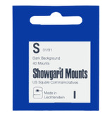 Showgard 31 x 31 mm Pre-Cut Mounts