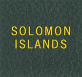 Scott Solomon Islands Specialty Binder Label