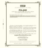 Scott Poland Stamp Album Supplement, 2019 #68