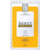 115 x 265 mm Scott Mount (Scott 1062 B/C)