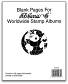 Harris Blank Album Pages for Worldwide Albums
