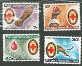 Papua New Guinea, Scott Cat No. 521-524, MNH