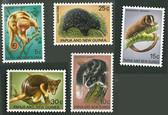 Papua New Guinea, Scott Cat No. 323-327 (Set), MNH