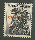 Papua New Guinea, Scott Cat No. J4, Used