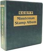 Scott Minuteman 3-Ring Album Binder
