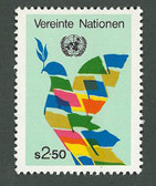 United Nations - Offices in Vienna, Scott Cat. No. 8, MNH