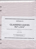 Glassine Interleaves for Minkus 2-Post Albums