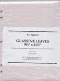 Glassine Interleaves for Minkus 2-Post Albums