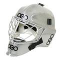 OBO Fiberglass Helmet - Plain Silver
