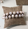 Perle by Lola - Double Row Pearl Bracelet