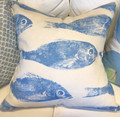 Fish Print Pillows