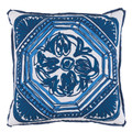 LaceField Harbor Blue Indoor Pillow