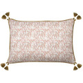 LakeField Cinder Blush W/Jute Pipe & Tassel Pillow