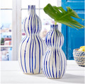 Striped Bubble Vases
