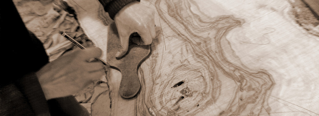Olive Wood Rustic Cheese Board