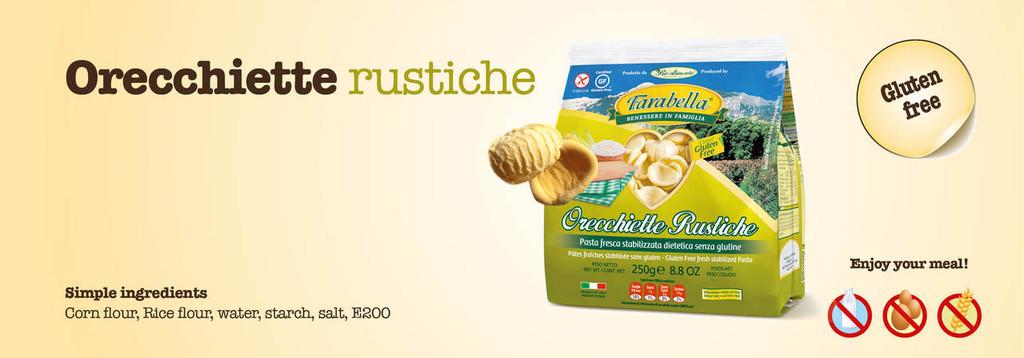 Gluten Free Imported Orecchiette, 250g