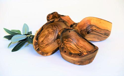 Olive Wood Rustic Bowl 4pc Set