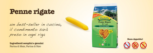 Gluten Free Imported Penne, 250g
