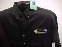 BUICK MOTORSPORTS  BUTTON DOWN WOVEN SHIRTS