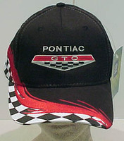 PONTIAC GTO CHECKERED HAT
