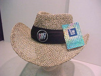 BUICK TRI-SHIELD STRAW HAT