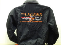 GTOAA 3 SEASON JACKET FRONT AND BACK LOGO