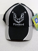 2ND GENERATION FIREBIRD PONTIAC LICENSED TA BALL CAP BLACK/WHITE