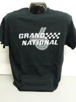 BUICK GRAND NATIONAL SILKSCREEN BLACK TEE SHIRT LICENSED BY GM