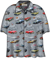 Buick Classics Camp Shirt Licensed by General Motors