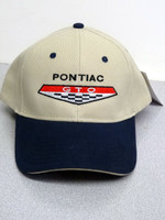 PONTIAC GTO KHAKI  TWO TONE GM LICENSED BALL CAP